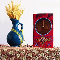 خرید اینترنتی ساعت رومیزی چوبی
